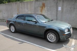 Chrysler 300C - Химчистка и перетяжка салона