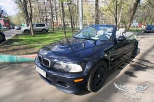 BMW M3 Cabrio - Перетяжка салона