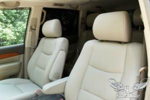 Lexus GX470 - Пошив салона, перетяжка потолка, химчистка салона