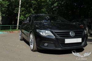 Volkswagen Passat CC - перетяжка потолка, шумоизоляция