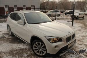 BMW X1 White - пошив кожаного салона