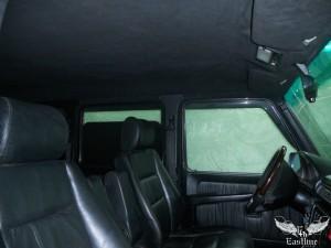 Mercedes-Benz G-Class - Перетяжка потолка в итальянскую алькантару