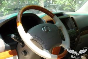 Обновленный руль для Lexus , кожа наппа, вставки под дерево
