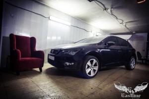 Seat Leon FR – перетяжка потолка