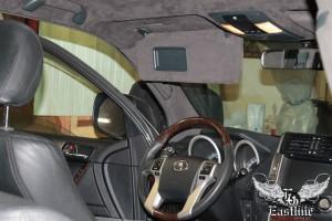 Toyota Land Cruiser Prado - перетяжка потолка