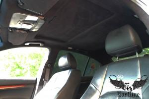 Infiniti G37 – шумоизоляция крыши, перетяжка потолка