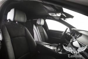 BMW 5  – перетяжка потолка