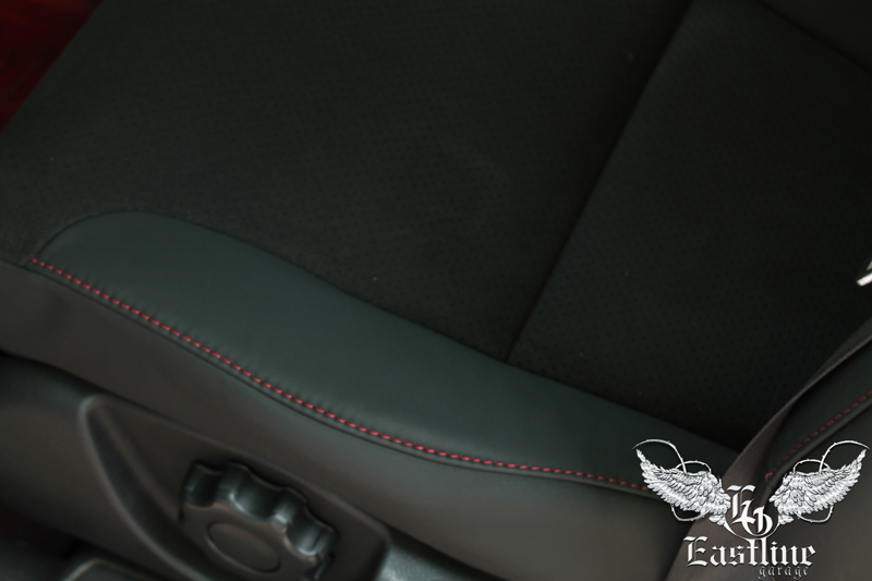 Тюнинг-ателье Eastline Garage. Самоклеющаяся алькантара и кожзам! 55