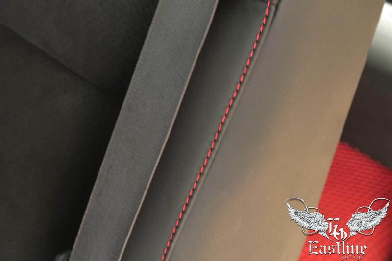 Тюнинг-ателье Eastline Garage. Самоклеющаяся алькантара и кожзам! 571