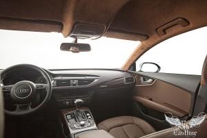 Audi A7 – перетяжка потолка