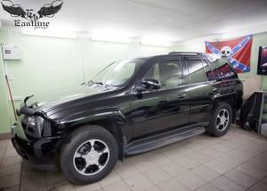 Chevrolet TrailBlazer - перетяжка потолка