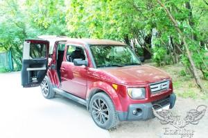 Honda Element – перетяжка сидений