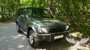 Land Rover Discovery II – усиление потолка стекловолокном с последующей перетяжкой алькантарой