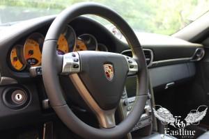 Porsche 911 Turbo - перетяжка элементов салона