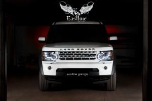 Land Rover Discovery IV  - комплексная перетяжка потолка с последующей перекраской потолочного пластика