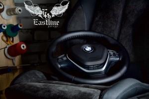 BMW 3-series F30 – комплексная перетяжка салона экокожей и алькантарой