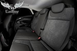 Ford Focus III – пошив сидений в экокожу с центральными вставками из алькантары