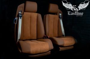 Mercedes-Benz SL R129 – ремонт и перетяжка сидений в немецкую экокожу