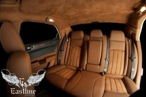 Chrysler 300C – комплексная перетяжка салона автомобиля, аквапринт салонного пластика