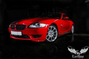 BMW Z4 – комплексная перетяжка салона автомобиля