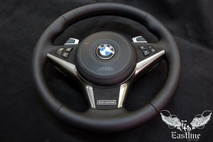BMW 6-series E63 – установка подогрева руля с последующей его перетяжкой.