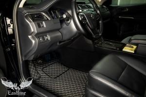 Коврики из немецкой экокожи для новой Toyota Camry