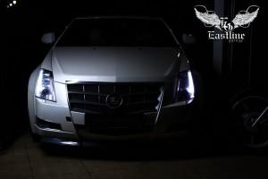 Ковры из экокожи в изящный Cadillac CTS Coupe — кульминация стиля, воплощенная дизайнерами...