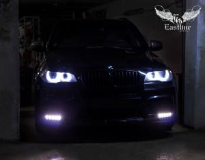 BMW X5 E70 – пошив эксклюзивных ковров из немецкой экокожи