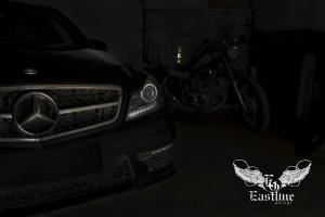 Mercedes C-class W204 – комплексная доработка салона автомобиля