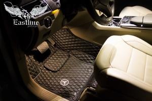 Mercedes-Benz Gl 166 - Ковры из экокожи с бортами
