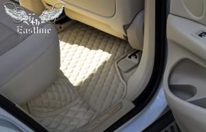 BMW X5 F15 - комплект ковров c бортами премиум-класса из немецкой экокожи.