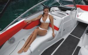 Перетяжка салона катера Sea-Doo Speedster 200