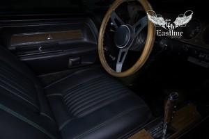 Dodge Challenger 1970г. – комплексный пошив салона автомобиля