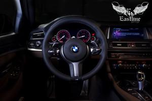 BMW 5-seriesF10 – утолщение рулевого колеса с последующей перетяжкой