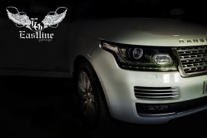 Range Rover Vogue  - напольные ковры из экокожи ручной работы