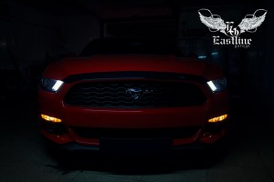 Ford Mustang – Перетяжка салона автомобиля