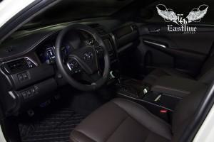 Toyota Camry – комплексная  перетяжка салона автомобиля