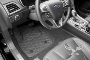 Комплект ковров из экокожи для Ford Mondeo