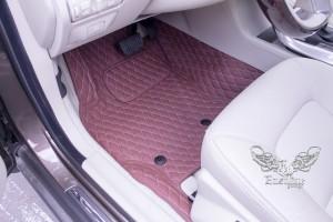 Люксовый комплект ковров для Volvo XC70