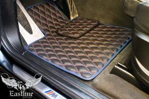 BMW X6 - Ковры из экокожи с м-строчкой