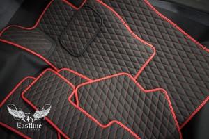 Автомобильные коврики из экокожи для BMW X1