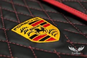 Люксовый комплект ковров для Porsche Cayenne