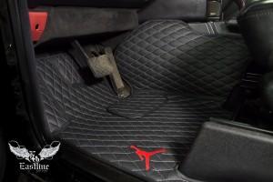 Mercedes-Benz G-Class и Майкл Джордан, пошив комплекта люксовых ковров с уникальной вышивкой