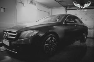 Mercedes Benz E-Класс W213 пошив люксового комплекта ковров в салон и ковра в багажник