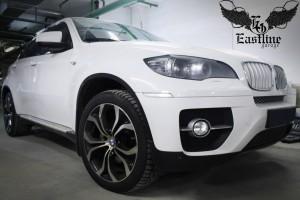 BMW X6 – пошив премиального комплекта ковров из немецкой экокожи