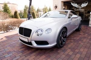 Bentley Continental GT пошив эксклюзивного комплекта автомобильных ковриков из экокожи