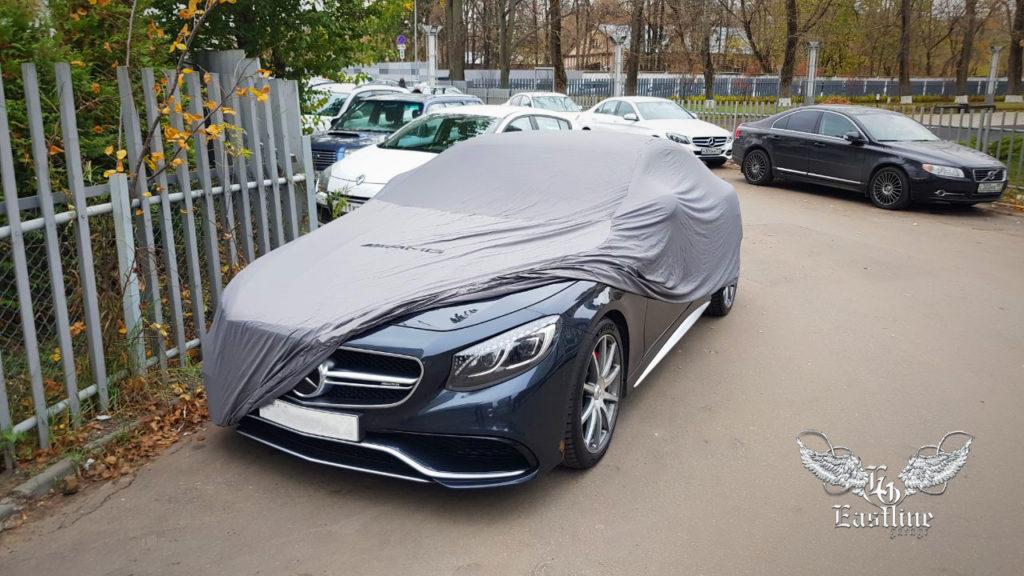 Mercedes-Benz S63 AMG Coupe –новый чехол на кузов автомобиля