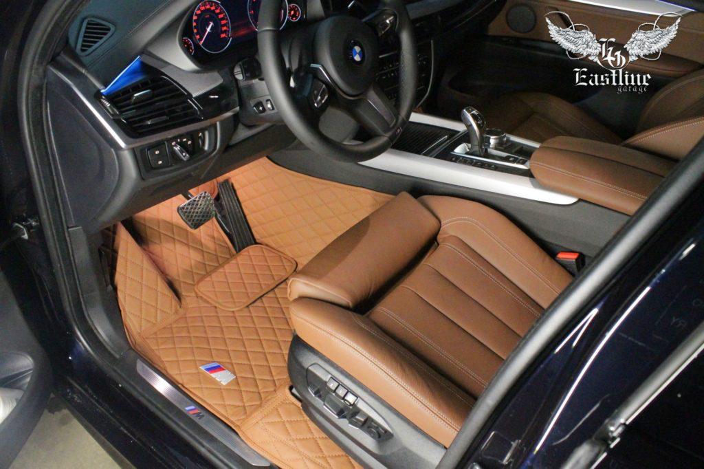 BMW X5 – премиальный комплект из экокожи с бортами.